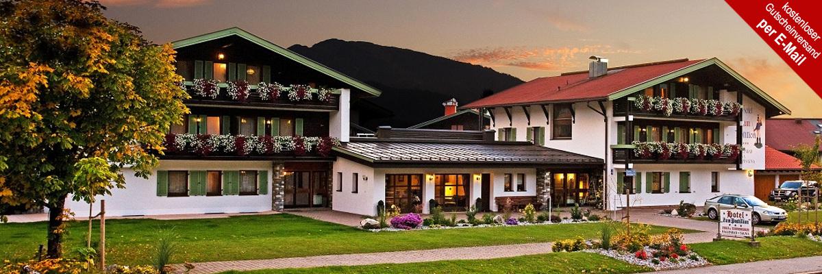 Bayern chiemgau hotel zum postillion reit im winkl 3 8 for Design hotel chiemsee